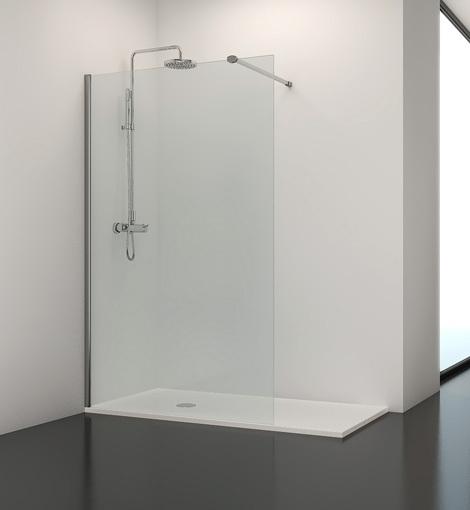 Fijo standard ducha cristalsan - Cristal fijo para ducha ...
